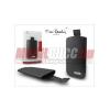 Pierre Cardin iPhone3 méretű Slim álló tok, fekete