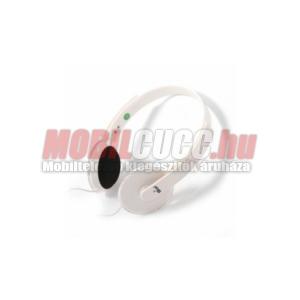 Omega Freestyle 3.5 fejhallgató,mikrofonnal,fehér