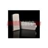 CELLECT Samsung Galaxy Ace Flip textil tok, Fehér