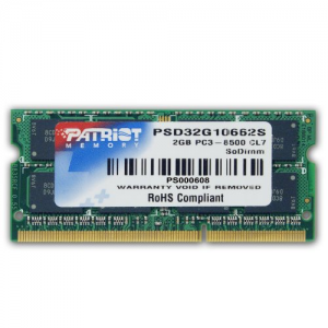 Patriot 4GB DDR3 1600MHz