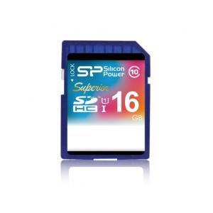Silicon Power SDHC 16GB Superior UHS-I