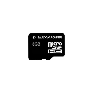 Silicon Power microSDHC 8GB Class 10