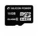Silicon Power microSDHC 16GB Class 6