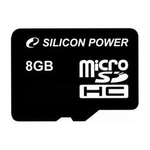 Silicon Power microSDHC 8GB Class 6