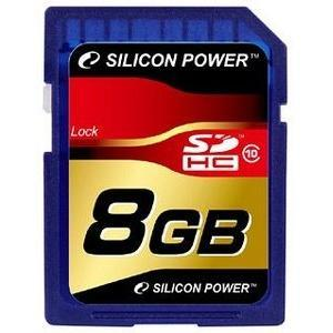 Silicon Power SDHC 8GB Class 10