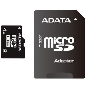 A-Data microSDHC 4GB Class 4
