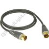 Klotz MIDI kábel 9 m Klotz aranyozott DIN5 - DIN5 csatlakozók