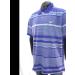 . Póló, férfi, galléros, M, kék