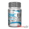 BioTech USA Zinc 100 - 100 tabletta