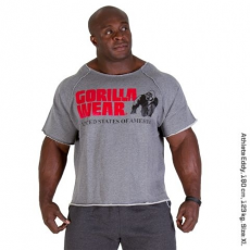 Gorilla Wear Classic Work Out Top Szürke