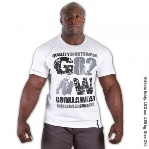 Gorilla Wear 82 Tee White