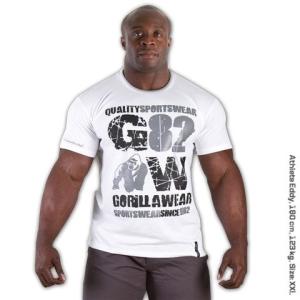 Gorilla Wear 82 Tee White