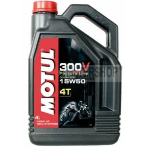 Motul 300V 4T 15w50 4 L motorkerékpár olaj