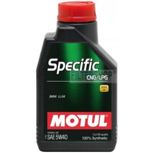 Motul Specific CNG/LPG 5W40 1 L motorolaj