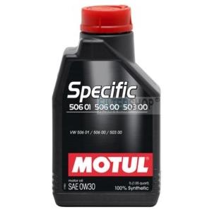 Motul Specific 506 01 506 00 503 00 0W30 5 L motorolaj