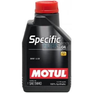 Motul Specific LL-04 5W40 5 L motorolaj