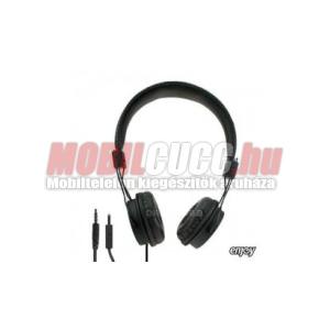 Enjoy felvevőgombos 3.5 jack sztereó fejhallgató