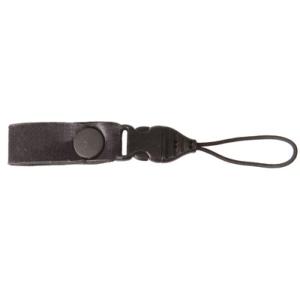OPTech USA neoprén ujjra húzható kompakt fényképezőgép-hordszíj, fekete