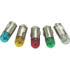 Conrad LED izzó, BA7s, 12 V, borostyán, T7 BA7s Single Dome Lamp, Barthelme 70112894