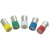 Conrad LED izzó, BA9s, 220 V, zöld, T10 BA9S Multi 2Chips Flat Lamp, Barthelme 70113064