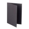 Rössler Papier GmbH and Co. KG Rössler B/6 karton  2 részes 120/240x169 mm 220gr. sötét szürke