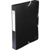 Exacompta füzetbox  PP  fekete A4  40mm