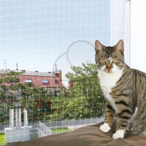 Trixie macskaháló ablakra 2 x 1,5 m fekete (TRX44301)
