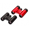 Nikon 10x21 ACULON T01 binoculars in black or red colors.