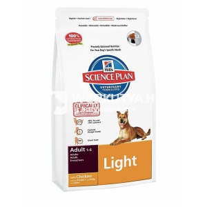 Hill's SP Canine Adult Light Chicken 2 x 12 kg