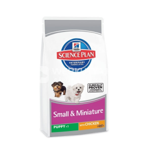 Hill's SP Puppy Small&Miniature Chicken 4 x 1,5 kg