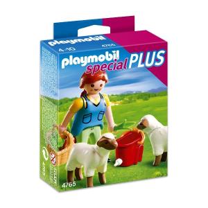 Playmobil Gazdasszony és legelésző bárányok - 4765