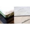 Vízzáró matracvédő, frottir/ PVC, 160x200 cm - Naturtex