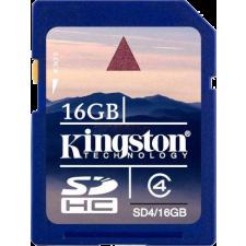 Kingston SDHC 16GB Class 4 memóriakártya