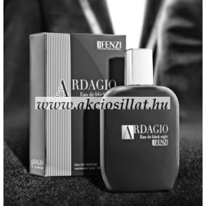 J.Fenzi Ardagio Eau de Black Night EDP 100 ml