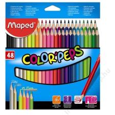 MAPED Color`Peps színes ceruza készlet, 48 különböző szín színes ceruza