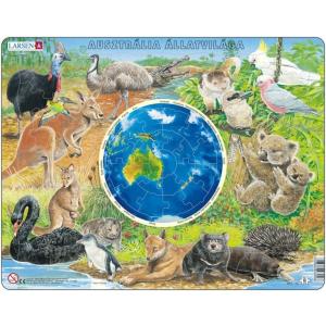 Larsen Larsen maxi puzzle 90 db-os Ausztrália állatvilága (magyar nyelvű) AW6