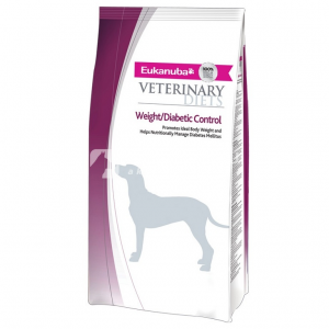 Eukanuba Weight & Diabetic Controll 2 x 12 kg