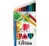 ICO Süni Jumbo színes ceruza készlet, vastag, háromszögletű 12 szín színes ceruza