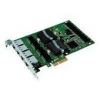 Intel Gigabit Pro/1000 PT (4xRJ45) Quad Port Server -Low Profile hálózati kártya