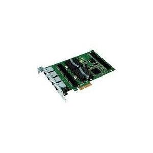 Intel Gigabit Pro/1000 PT (4xRJ45) Quad Port Server -Low Profile hálózati kártya