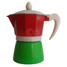 Perfect home 3 személyes trikolor kávéfőző