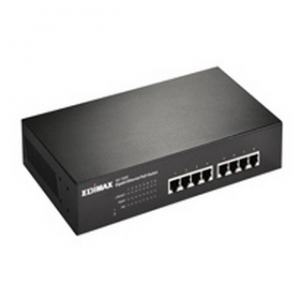 Edimax GS-1008P 8-port Gigabit Switch with 8ports POE (150W) 802.4at(iti) (GS-1008P)