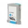utángyártott HP C4907AE, 940 XL (c, kék) prémium kategóriájú utángyártott tintapatron chippel, patron