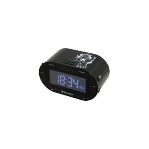 Roadstar CLR-2750 órás rádió fekete színben