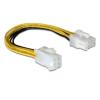 DELOCK Cable 8pin EPS male -> 4pin ATX/P4 female (