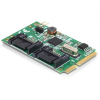 DELOCK I/O DELOCK MiniPCIe full size -> 2 x SATA 6 Gb/s (
