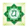 Naturhelix csakragyertya - Zöld 5 db