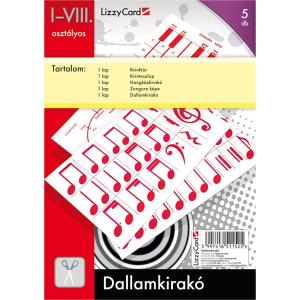 Lizzy Card Dallamkirakó lapok - 1-8. osztály