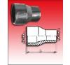 KPE-Tokos egyenes szűkítő 75/63 sütős hűtés, fűtés szerelvény