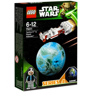 LEGO Star Wars - Tantive IV űrhajó és Alderaan bolygó 75011